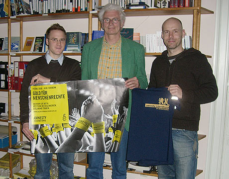 Besuch bei amnesty international in Bremen