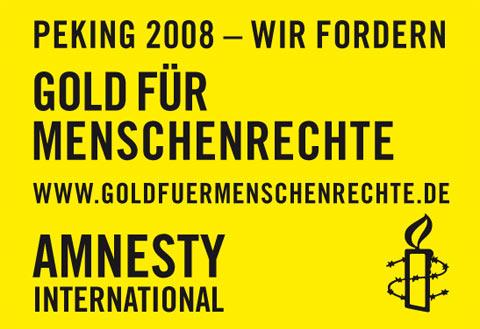 Gold für Menschenrechte