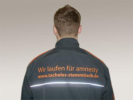 Wir laufen für amnesty