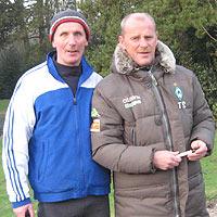 Hartmut Selz mit Thomas Schaaf