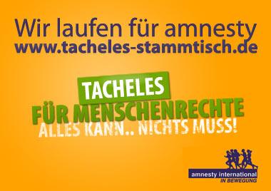 Tacheles für Menschenrechte